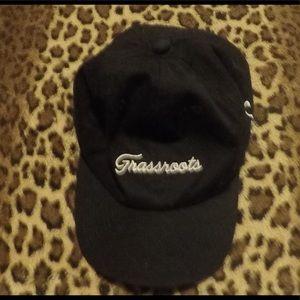 Grass Roots stash pocket black hat